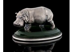Серебрянная статуэтка Бегемот