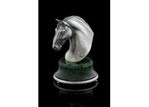 Серебрянная статуэтка Першерон