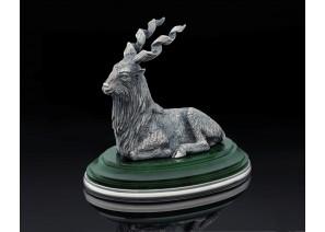 Серебрянная статуэтка Винторогий козел